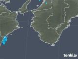2018年11月08日の和歌山県の雨雲の動き