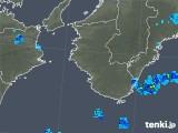 2018年11月09日の和歌山県の雨雲の動き