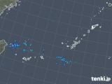 2018年11月10日の沖縄地方の雨雲レーダー