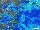 2018年11月12日の宮崎県の雨雲の動き