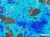 2018年11月16日の宮崎県の雨雲の動き
