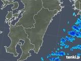 2018年11月19日の宮崎県の雨雲の動き