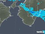 2018年11月21日の和歌山県の雨雲の動き