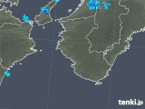 2018年11月22日の和歌山県の雨雲の動き