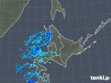 2018年11月25日の北海道地方の雨雲の動き