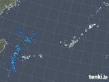 2018年11月25日の沖縄地方の雨雲レーダー