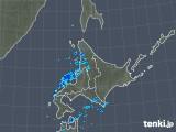 2018年11月27日の北海道地方の雨雲の動き