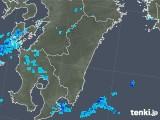 2018年11月27日の宮崎県の雨雲の動き