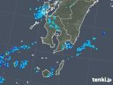 2018年11月27日の鹿児島県の雨雲の動き