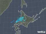 2018年11月28日の北海道地方の雨雲の動き