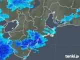 2018年11月28日の三重県の雨雲の動き