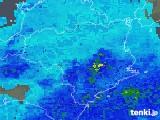 2018年11月28日の徳島県の雨雲の動き