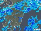 2018年11月28日の宮崎県の雨雲の動き