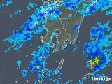 2018年11月28日の鹿児島県の雨雲の動き