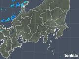2018年11月29日の関東・甲信地方の雨雲の動き