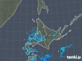 2018年12月01日の北海道地方の雨雲の動き