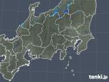 2018年12月01日の関東・甲信地方の雨雲の動き
