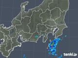 2018年12月02日の関東・甲信地方の雨雲の動き