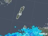2018年12月02日の長崎県(壱岐・対馬)の雨雲の動き