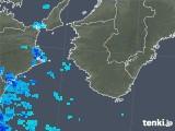 2018年12月03日の和歌山県の雨雲の動き