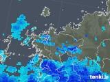 2018年12月03日の佐賀県の雨雲の動き