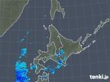 2018年12月04日の北海道地方の雨雲の動き