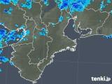 2018年12月04日の三重県の雨雲の動き
