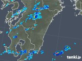 2018年12月04日の宮崎県の雨雲の動き