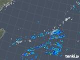 2018年12月05日の沖縄地方の雨雲の動き