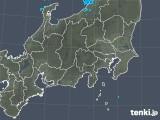 2018年12月05日の関東・甲信地方の雨雲の動き