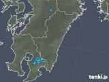 2018年12月05日の宮崎県の雨雲の動き