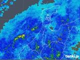 2018年12月06日の石川県の雨雲の動き