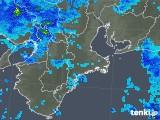 2018年12月06日の三重県の雨雲の動き