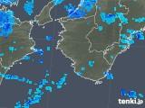 2018年12月06日の和歌山県の雨雲の動き