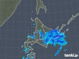 2018年12月07日の北海道地方の雨雲の動き