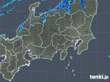 2018年12月07日の関東・甲信地方の雨雲の動き