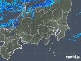 2018年12月08日の関東・甲信地方の雨雲の動き