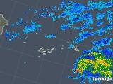 2018年12月10日の沖縄県(宮古・石垣・与那国)の雨雲レーダー