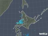 2018年12月11日の北海道地方の雨雲の動き