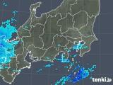 2018年12月11日の関東・甲信地方の雨雲の動き