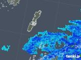 2018年12月11日の長崎県(壱岐・対馬)の雨雲の動き