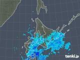 2018年12月12日の北海道地方の雨雲の動き