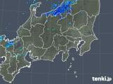 2018年12月12日の関東・甲信地方の雨雲の動き