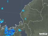 2018年12月12日の福井県の雨雲の動き