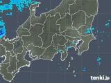 2018年12月13日の関東・甲信地方の雨雲の動き