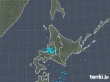 2018年12月15日の北海道地方の雨雲の動き