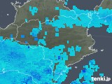 2018年12月16日の徳島県の雨雲の動き