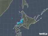 2018年12月17日の北海道地方の雨雲の動き