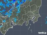 2018年12月17日の関東・甲信地方の雨雲の動き