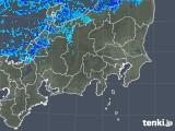 2018年12月18日の関東・甲信地方の雨雲の動き